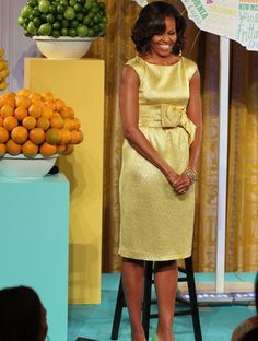 Michelle Obama Kids State Lunch