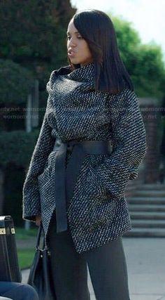 Tweed Wrap Coat | Wrap coat, Tweed and Panama