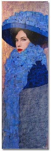 Painting by Richard Burlet.