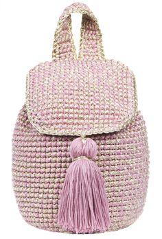 Pink Cote d'Azur Backpack