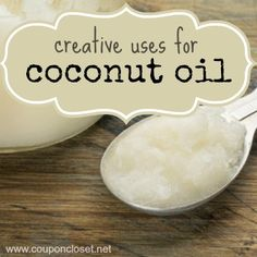 creative uses for coconut oil