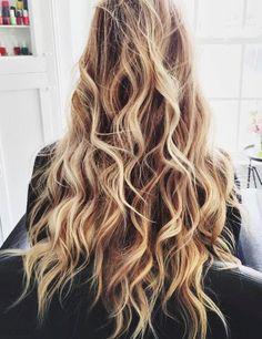 New hair messy long beach waves ideas Summer Hairstyles, Messy Hairstyles, Straight Hairstyles, Blonde Hairstyles, Hairstyle Ideas, Bridal Hairstyles, Blond Ombre, Blonde Balayage, Balayage Straight