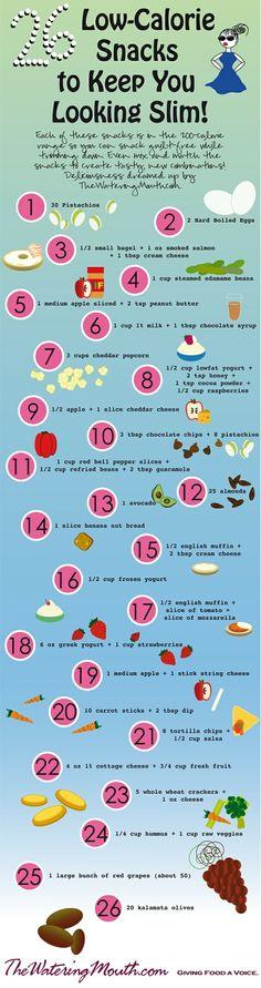 26 low calorie snacks to keep you looking slim