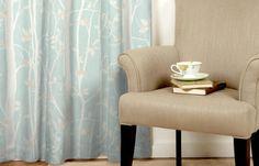 Guest room ...!Cottonwood Duck Egg Laura Ashley fabric