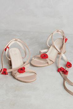 Slide View: 1: Raye Cassia Heeled Sandals