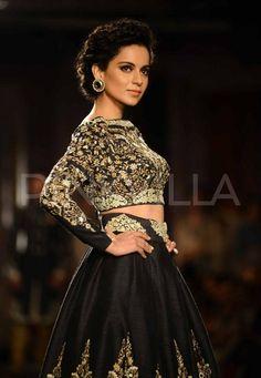 India Couture Week: Kangana walks for Anju Modi 0