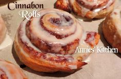 Mmmmmm My favorite!!!!!! Cinnabon Cinnamon Rolls  These are amazing!!!  Follow me on facebook for this and many more recipes>>> https://www.facebook.com/annie.wiebe.102