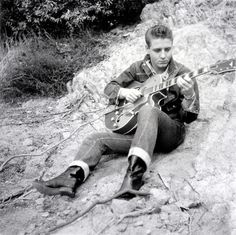 Eddie Cochran 1958 by Railroad Jack, via Flickr