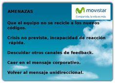 Amenazas. Análisis DAFO Movistar.