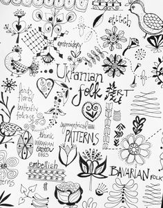 Art journal page- julie hamilton designs {artistically afflicted blog}