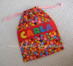 Bolsita merienda de tela para bebé - Baby bag