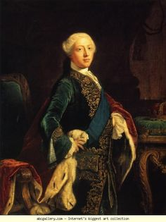 King George III.  c1759, Sir Joshua Reynolds (1723-1792, English)
