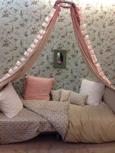 amazing #diy canopy bed #kidsdecor