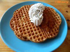 Belgialaiset vohvelit Waffles, Breakfast, Food, Morning Coffee, Essen, Waffle, Meals, Yemek, Eten