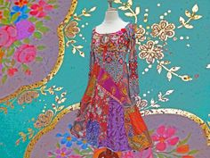 Romantic long dress RESERVED by lodicha on Etsy, €229.00
