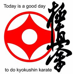 What a great day for kyokushin.
