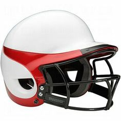 Worth Liberty Home Helmet,With mask White/Scarlet by Worth. $45.46. High impact polymer shell for safety.