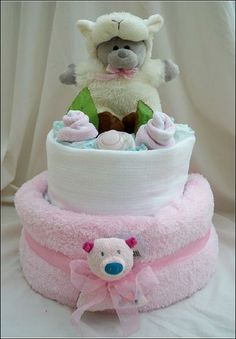 nappy cake - perfect for new babies!!