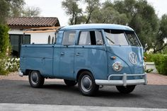 Bid for the chance to own a 1961 Volkswagen Type 2 Double Cab Transporter at auction with Bring a Trailer, the home of the best vintage and classic cars online. Vintage Volkswagen Bus, Volkswagen Type 2, Volkswagen Transporter, Vw Bus, Volkswagen Vehicles, Volkswagen Beetles, Volkswagen Golf, Vw Modelle, Custom Motorcycle Builders