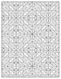 Stars+and+Flowers+Design+Pattern++