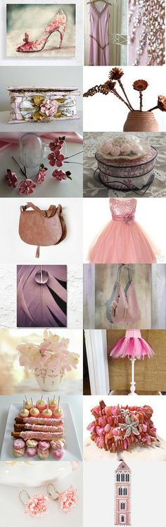 ~>**Pretty, Painted in Pink**<~ by Kady O'Sullivan-Johnson on Etsy--Pinned with TreasuryPin.com