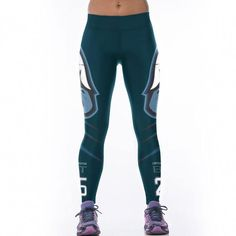 34887e9144229 2017 New Brand Woman Rugby Team digital printing Yoga Pants Women Quick dry  Elastic Sports Legging Gym Fitness Workout Running