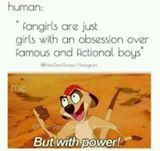 We don't fangirl just over boys... we also fangirl over the books, movies, and shows there in.