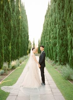 Greystone Mansion And Gardens Wedding Story Elegant Glamorous 2017