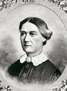 """Margaret """"Peggy"""" Mackall Smith, wife of Zachary Taylor the 12th president.  She stayed to herself in isolation in the White House and gave the obligations of first lady to her daughter, Mary Elizabeth (Betty) Taylor Bliss.  It is said she prayed her husband would not get elected."""