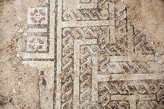 Mosaico romano de Astorga Nudos de Salomón