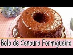 Receitas Tá na Hora | Aprenda a fazer Bolo de Cenoura Formigueiro. Uma delícia!!