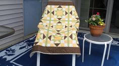 A personal favorite from my Etsy shop https://www.etsy.com/listing/512665760/alphabet-baby-quilt-in-brown-and-pale