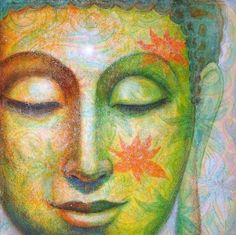 Bouddha poster Art spirituel lotus méditation par HalstenbergStudio