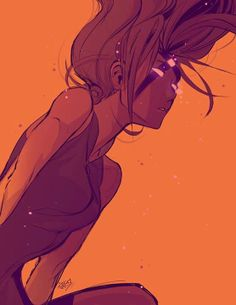 I wish something like this actually happened to Sakura because she looks beautiful here
