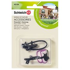Schleich Pony Saddle and Bridle Farm Life Accessories Sale 2020 The largest selection of Schleich toys Animals, Horses, Knights, Dinosaurs, Smurfs. Schleich Horses Stable, Horse Stables, Horse Tack, Pony Saddle, Dressage Saddle, Bryer Horses, Cool Paper Crafts, Horse Accessories, Farm Life