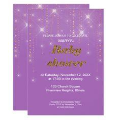 Tropical baby shower birthday wedding invitation rsvp glitter baby shower invitation solutioingenieria Choice Image