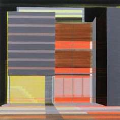 Architectural Paintings by Cécile van Hanja in art architecture  Category