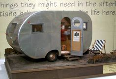 doll house trailer airstream miniature