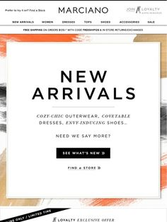 Happy Friday! Celebrate with New Fall Arrivals - Marciano