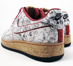 Get a better look at the Nike Air Force 1 Bespoke from R after the jump