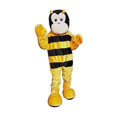 Dress Up America Fashion Holiday Seasonal Bumble Bee Mascot Size Adult One Size Fits Most