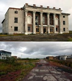 Kadykchan was one of many small Russian cities that fell into ruin when the Soviet Union collapsed. Residents were forced to move to gain access to services like running water, schools and medical care.