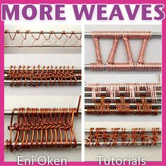 More Wire Weaves PDF tutorial by EniOken on Etsy