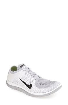 Nike 'Free Flyknit 4.0' Running Shoe (Women) available at #Nordstrom