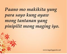 love quotes for crush tagalog 2013 Kilig Love Quotes For Him Quote Love Quotes For Crush, Crush Quotes, Tagalog Quotes, Qoutes, Hugot Lines Tagalog, How To Gain Confidence, Pick Up Lines, Save Me, Short Quotes