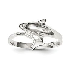 *Extra 10% off on our store plus No Shipping Charges! Period. Sterling Silver D... Check it out here! http://shirindiamond.net/products/sterling-silver-dolphin-ring-qr162?utm_campaign=social_autopilot&utm_source=pin&utm_medium=pin