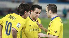 Iniesta / Messi / Xavi