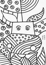romero britto coloring risks today at age 48 romero britto is one of the reference icons for the artists of this new generation