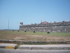 Murallas ciudad vieja Cartagena!
