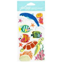 Felt Sea Life 3D Stickers